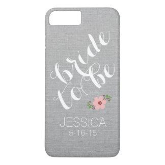 Kundenspezifische personalisierte Braut, zum iPhone 8 Plus/7 Plus Hülle