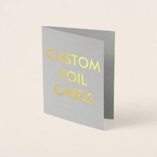 Kundenspezifische personalisierte folienkarte