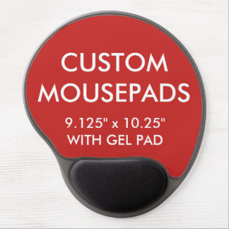 Kundenspezifische personalisierte gel mousepad