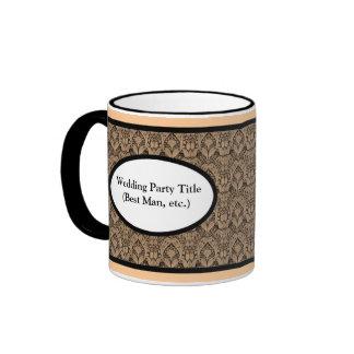 Kundenspezifische personalisierte Hochzeits-Party- Kaffeehaferl