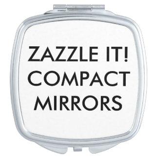 Kundenspezifische personalisierte kompakte schminkspiegel
