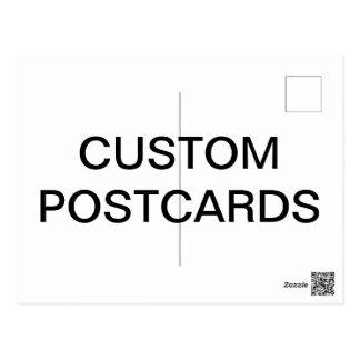 Kundenspezifische personalisierte postkarte