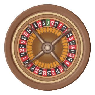 Kundenspezifische Pokerchips des Roulette-Rades