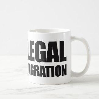 Kundenspezifische Politiken behalten es legale Kaffeetasse