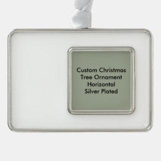 Kundenspezifische Rahmen-Ornament Silber