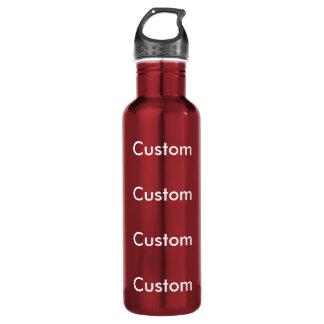 Kundenspezifische ROTE Wasser-Flasche des Trinkflasche