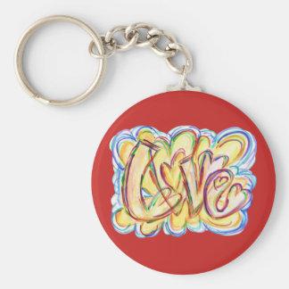 Kundenspezifische Schlüsselketten Liebe-der Schlüsselanhänger