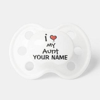 Kundenspezifische Schnuller-Liebe meine Tante Schnuller