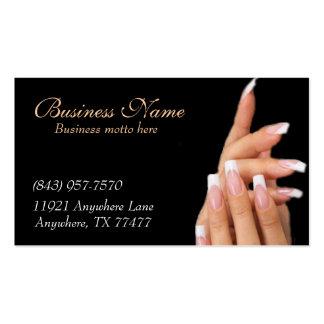 Kundenspezifische schwarze visitenkarte