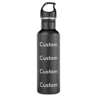Kundenspezifische SCHWARZE Wasser-Flasche des Edelstahlflasche