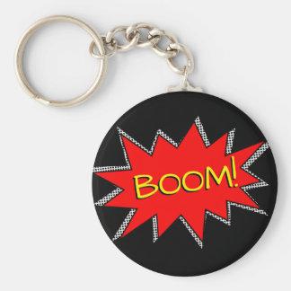 Kundenspezifische Standard Runder Schlüsselanhänger