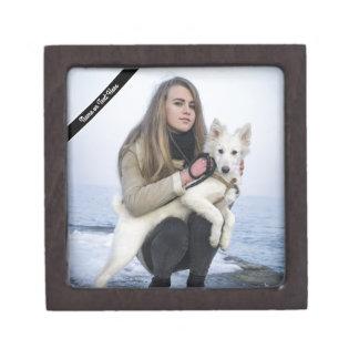 Kundenspezifische Strand-Hunde-und Schachtel