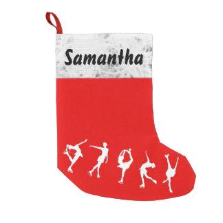 Kundenspezifische Zahl Skater-Strumpf Kleiner Weihnachtsstrumpf