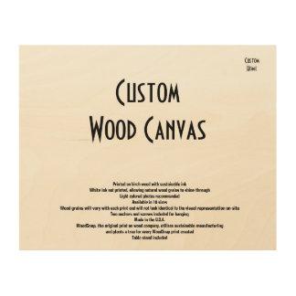 Kundenspezifische Zuhause-Holz-Leinwand Holzleinwände