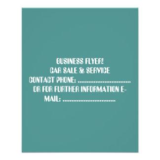 kundenspezifischen Geschäfts-Flyers Flyer