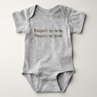 Kundenspezifischen personalisiert lustigen baby strampler