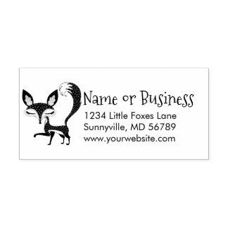 Kundenspezifischer Adressen-Selbst Lil Fox, der Permastempel