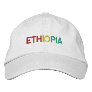 Kundenspezifischer Äthiopien Hut Äthiopiens -
