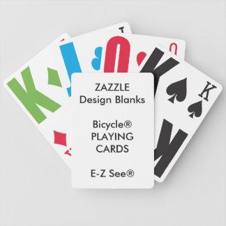 Kundenspezifischer Bicycle® E-Z See® Bicycle Spielkarten
