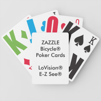 Kundenspezifischer Bicycle® Poker-Spielkarten Bicycle Spielkarten