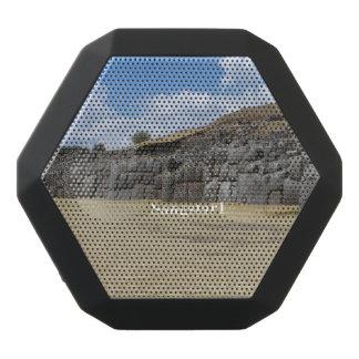 Kundenspezifischer Boombot REX, schwarz Schwarze Bluetooth Lautsprecher