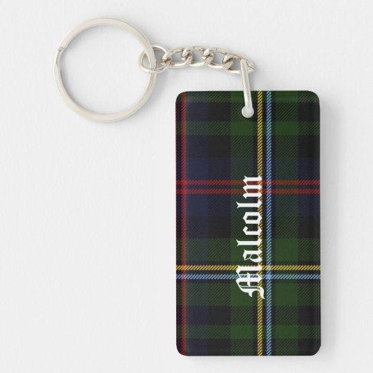 Kundenspezifischer Clan-Malcolmtartan-karierte Schlüsselanhänger