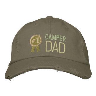 Kundenspezifischer der Vatertags-Camper-Vati-Hut Bestickte Baseballmützen
