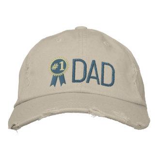 Kundenspezifischer der Vatertags-/der Bestickte Baseballkappe