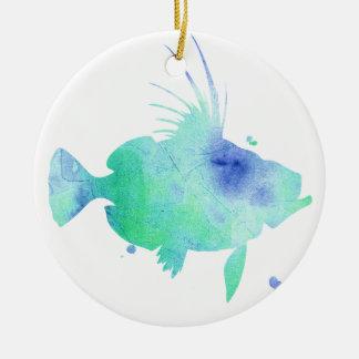 Kundenspezifischer Druck der Ozean-Gezeiten Keramik Ornament