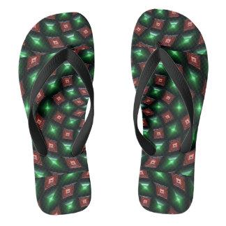 Kundenspezifischer Erwachsener, breite Bügel Flip Flops