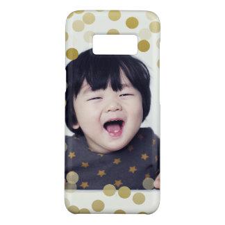 Kundenspezifischer Fotou. Imitat-GoldConfetti Case-Mate Samsung Galaxy S8 Hülle