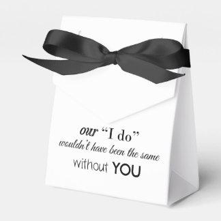 Kundenspezifischer Gastgeschenk Hochzeits-Kasten Geschenkschachtel