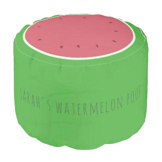 Kundenspezifischer grüne und rosa hocker