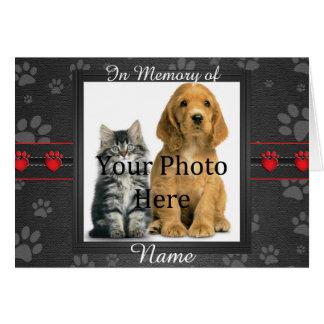 Kundenspezifischer Hunde-oder Karte
