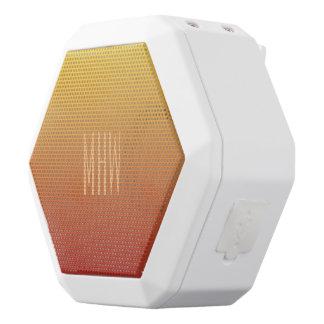 Kundenspezifischer Monogramm-Lautsprecher der Weiße Bluetooth Lautsprecher