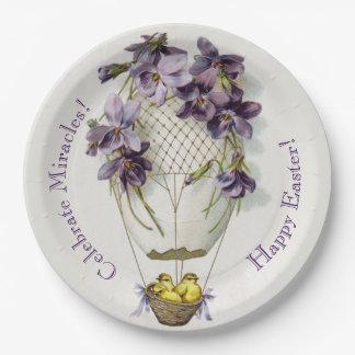 Kundenspezifischer niedlicher Lilien-Ballon Pappteller