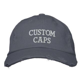 Kundenspezifischer personalisierter gestickter bestickte baseballkappe