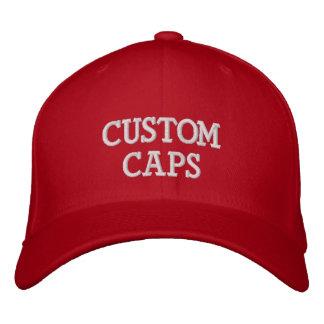 Kundenspezifischer personalisierter gestickter bestickte kappe
