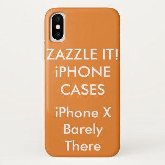 Kundenspezifischer personalisierter iPhone X kaum iPhone X Hülle