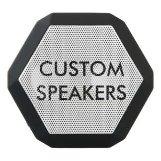Kundenspezifischer personalisierter schwarzer schwarze bluetooth lautsprecher
