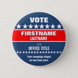 Kundenspezifischer politischer Knopf