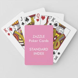 Kundenspezifischer STANDARDindex Poker-Spielkarten Spielkarten