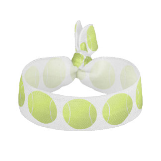 Kundenspezifischer Tennisball Hairties für Spieler Haarschleife