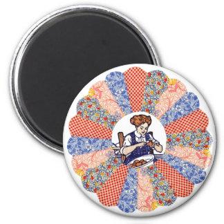 Kundenspezifischer Vintager Runder Magnet 5,1 Cm
