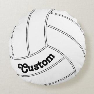 Kundenspezifischer Volleyball-rundes dekoratives Rundes Kissen