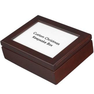 Kundenspezifischer Weihnachtsandenken-Kasten Erinnerungsbox
