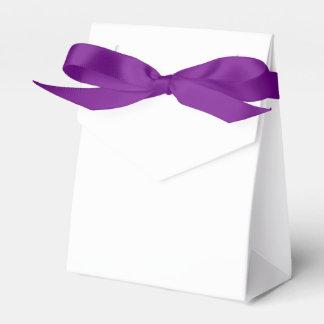 Kundenspezifischer Zelt-Bevorzugungs-Kasten (lila Geschenkschachtel