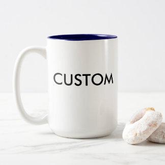 Kundenspezifischer Zwei-Ton große 15oz Tasse -