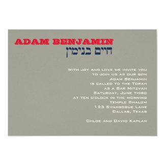 Kundenspezifisches Adam Benjamin 002750 12,7 X 17,8 Cm Einladungskarte