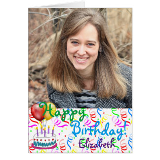Kundenspezifisches alles- Gute zum GeburtstagFoto Karte